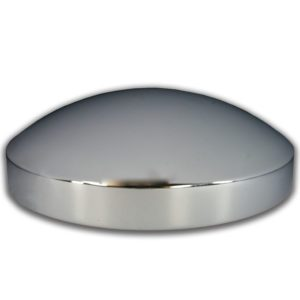 "Watts Wheels Premium Truck Accessories - 0008SS 7-7/8"" Stainless Steel Hubcap"