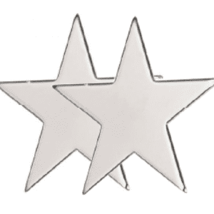 Watts Wheels Premium Truck Accessories - 019ST - Ornamental Star- twin pack