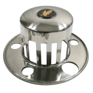 Watts Wheels Premium Truck Accessories - Part#: 2015R6 Stainless Steel Axle Cover - Rear for 6 stud