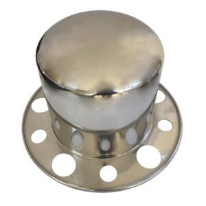 Watts Wheels Premium Truck Accessories - Part#: ACR28550 Stainless Steel Tophat 285mm PCD One Piece